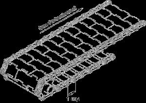 مشخصات فنی تسمه های زنجیره ای استیل گام 25.4 میلی متر